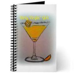 Dirty Virgin Lemon Drop Girl Journal $14.49