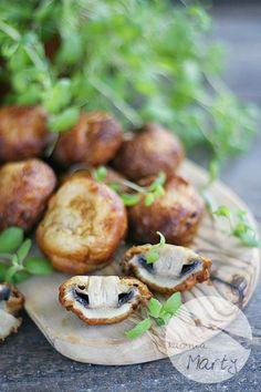 Pieczarki w cieście piwnym Baked Potato, Potatoes, Baking, Ethnic Recipes, Blog, Potato, Bakken, Blogging, Backen
