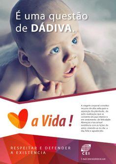Campanha de Valorização à vida - É uma questão de dádiva! https://www.facebook.com/EspiritismoSemMedo