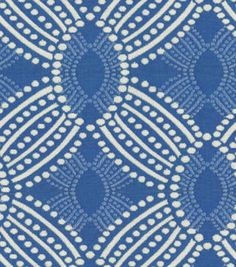 HGTV Home Upholstery Fabric Time Zone Azure