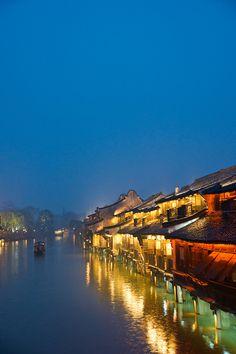 Night View - Wuzhen , China