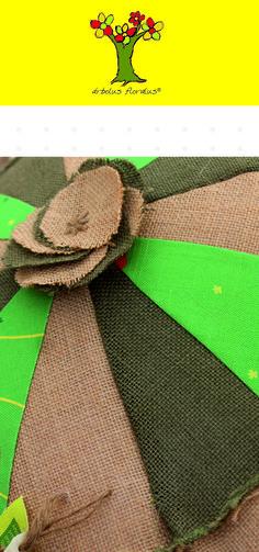 Cojín circular elaborado en yute, algodón personalizado con diseño exclusivo. Creación de árbolus floralus. arbolusfloralus@g..., Whatsapp 634344518