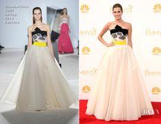 Allison Williams In Giambattista Valli Couture - 2014 Emmy Awards - Red Carpet Fashion Awards