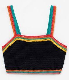 Crochet Bra, Crochet Bikini Pattern, Crochet Woman, Cute Crochet, Crochet Clothes, Diy Clothes, Beautiful Crochet, Crochet Top Outfit, Crochet Crop Top