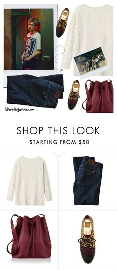"""""""Fall in Korea: inspired by Yugyeom / GOT7"""" by yooane on Polyvore featuring Toast, DL1961 Premium Denim, Sophie Hulme, Fall, Autumncolors, GOT7, yugyeom and autumn2015"""