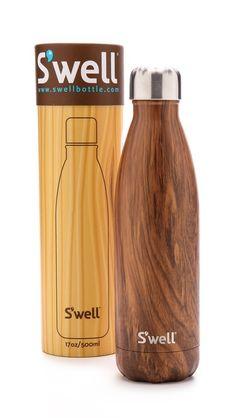 teakwood S'Well water bottle http://rstyle.me/n/tt2qrr9te