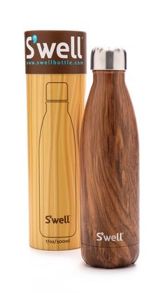 teakwood S'Well water bottle http://rstyle.me/n/tt2qrr9te