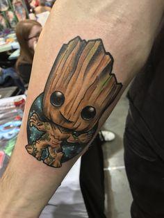 Bildergebnis für Groot Tattoo