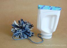 Play Eat Grow: Play: Homemade Toys - Milk Jug Toss