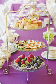 tea party sandwich and food ideas