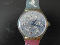 Swatch  Bunnysutra age 2004- *READ DESCRIPTION* #Swatch