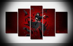 Own this amazing Itachi Uchiha Naruto anime wall canvas today we will ship the canvas for free. This is the perfect centerpiece for your home. It is easy to assemble and hang the panels together which makes this a great gift for your loved ones.  This painting is printed not handpainted and is ready to hang! We have 2 options for this canvas -- Size 1: (20x35cmx2pcs, 20x45cmx2pcs, 20x55cmx1pc) Size 2: (30x50cmx2pcs, 30x70cmx2pcs, 30x80cmx1pc) Limited quantities left. www.octotreasures.com