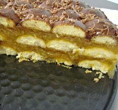 Secretele bucatariei noastre: TORT CU MERE SI PISCOTURI Romanian Desserts, Romanian Food, Junk Food, Snacks, Apple Pie, Cheesecakes, Cake Recipes, Waffles, Sweet Treats