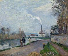 """Pissarro. Exposição""""A alma do impressionismo"""" em Pavia"""