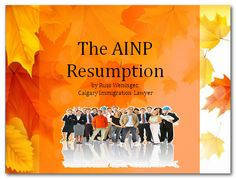 AINP (Alberta Immigrant Nominee Program) is one of the few economic immigration programs that allow certain semi-skilled workers to qualify for permanent residence in Canada. to fully understand this and to make it easier for you to immigrate with that certain category have the help of Russ Weninger | Calgary Immigration Lawyer. Permanent Residence, Calgary, Lawyer, The Help, Brain, Canada, Amp, The Brain