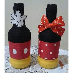 Mickey Craft, Mickey Mouse Crafts, Fiesta Mickey Mouse, Mickey Mouse Decorations, Baby Mickey, Disney Crafts, Mickey Minnie Mouse, Minie Mouse Party, Mickey Mouse Clubhouse Birthday