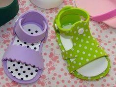 sandalias de goma eva para bebe - Buscar con Google