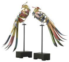 Multi-Colored Birds