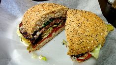 Photo of Chef Burger - Richmond Hill, ON, Canada. Super burger, cross section. Beef Patty, Richmond Hill, Burgers, Sandwiches, Canada, Fresh, Food, Hamburgers, Essen