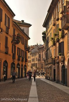 Beautiful Streets of Milano, Italy