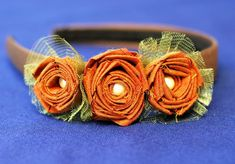 Rosette Headband Tutorial