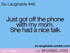 Haha, everytime
