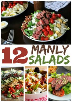 12 Manly Salads - Perfect for Father's Day!