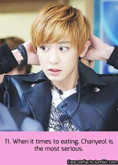 EXO Facts #11 ♥ Dude, I could marry this man- he knows how to eat! I love it! :D