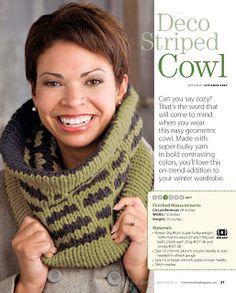 SANDRA CROCHE: Gola de trico