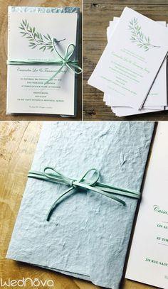 eucalyptus wedding invitations rustic wedding light blue envelopes#wedding #eucalyptus #invitationswedding invitations elegant | Custom Wedding Stationery & Invitations | Wedding Invitations + Paper Goods