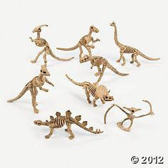 Dino-Mite Dinosaur Skeletons---these will need to be found cheaper but these are a must have!