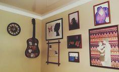 art corner, my drawings, home, diy, guitar, photos handmade, tribal art