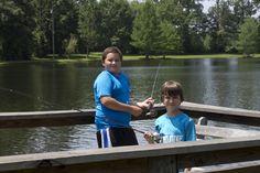 Fishing!  Camp Victory (Alabama) campvictoryal.org summer camp