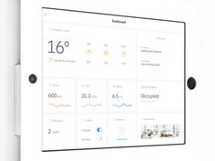 Home Control Dashboard