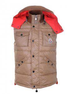 kopen goedkope Casual Mode Moncler Heren Vesten Bruin online in nederland !