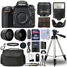 Buy Nikon D750 Digital SLR Camera  18-55mm VRII 3 Lens Kit  16GB Top Value Bundle