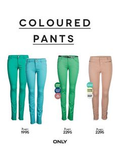 Spring Summer Collection '13 - Coloured Pants