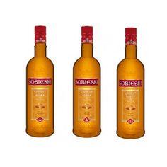 Liqueur Vodka Caramel Sobieski 70 Cl 18º - LOT DE 3