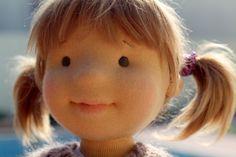 Waldorf Puppe Bio-Puppe 18 Zoll Lyubochka von FavoriteDolls