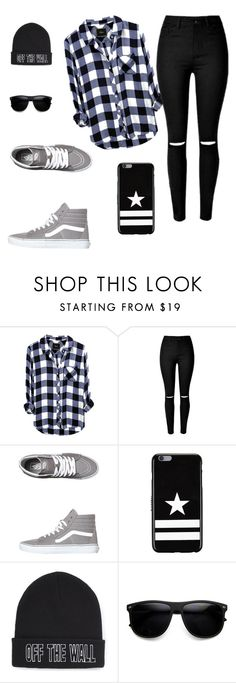 """""""Walk in the city."""" by hippiekhai on Polyvore featuring Vans and Givenchy"""