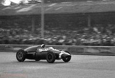 1959 Italian GP, Monza : Stirling Moss, Cooper-Climax T51 #14, Rob Walker Racing Team, Winner. (ph: © John Ross)