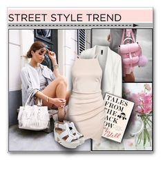 """""""NYFW Street Style"""" by hevsyblue2 ❤ liked on Polyvore featuring Manon Baptiste"""