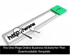 download a free and customizable online business kickstarter plan via The Mom Writes