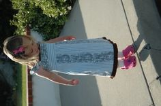 girls dress from mens dress shirt! sewing-projects