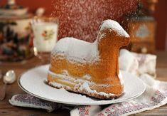 Osterlamm aus Rührteig Vanilla Cake, Desserts, Food, Spring, Cake Ideas, Dessert Ideas, Pies, Tailgate Desserts, Deserts