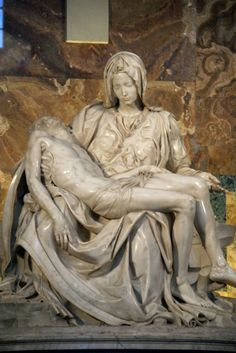 The Pieta in St. Peter's, Vatican City