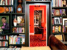 Mix Art in With Books--