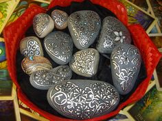 Rocks beautifully painted