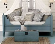 Day bed. traditional bedroom by The Lettered Cottage