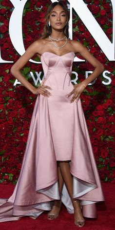 See Photos from the 2016 Tony Awards Red Carpet! - Jourdan Dunn from InStyle.com in Zac Posen